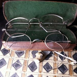 Antique glasses lot